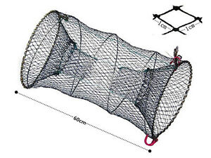New fishing bait trap cast dip net cage crab fish crawdad for Dip net fishing