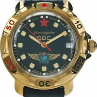 Russian Vostok Military Air Force Commander Watch 819313-B