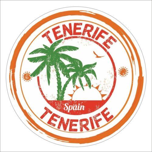 3M Graphics Tenerife Spain Vinyl Laptop Travel Luggage Car Helmet Sticker Decal