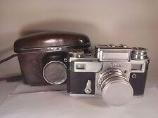 Ussr Camera Kiev-3a #5805833 1958 Jupiter-8 redP Case