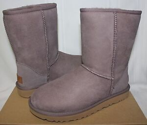 0b37c92ab50 UGG Women's Classic Short II Stormy Grey Suede boots 1016223 New ...