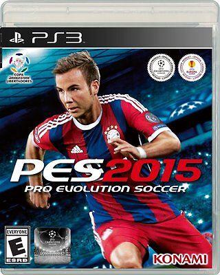 NEW Pro Evolution Soccer PES 2015 (Sony Playstation 3, 2014)