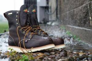 570a6eed2c5 Details about Thorogood Boots Made In USA Waterproof 8