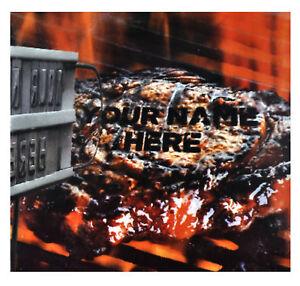 Barbecue Fer à marquer avec modifiable Lettres (A-Z)  </span>