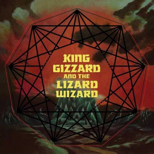 Nonagon Infinity [LP] [Yellow/Red/Black] by King Gizzard & The Lizard Wizard