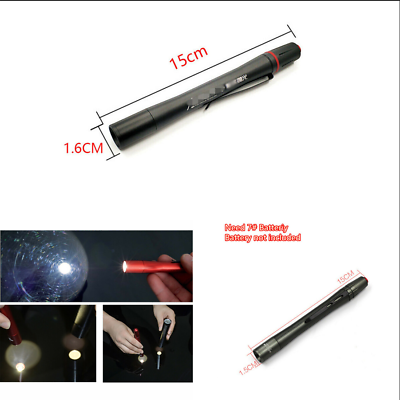 LED Car Paint Checking Swirl Finder Light Pen For Car Washing /&Paint Finish Tool