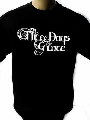 Three Days Grace Black New T-Shirt Fruit of the Loom ALL SIZES