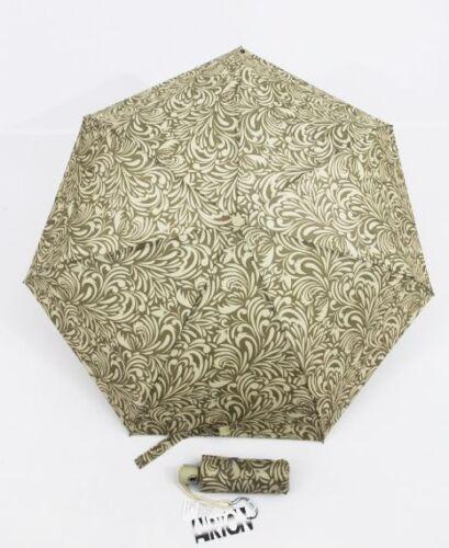 kleiner Automatik Regenschirm beige ca 20 cm Damen Taschenschirm N102 Airton