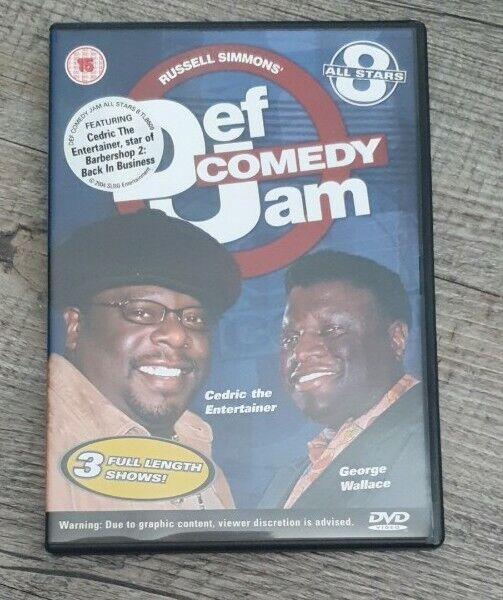 Def Comedy Jam - All Stars - Vol.8 (DVD, 2007)