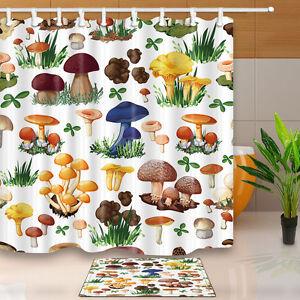 The Pirate Cat Theme Waterproof Fabric Home Decor Shower Curtain Bathroom Mat