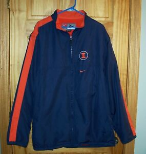 Team Nike University Of Illinois Fighting Illini 3 4 Length Jacket ... 90c26df12