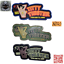 A/&E TITTY TWISTER Fashion Patch PVC Military Morale Funny Hook Rubber