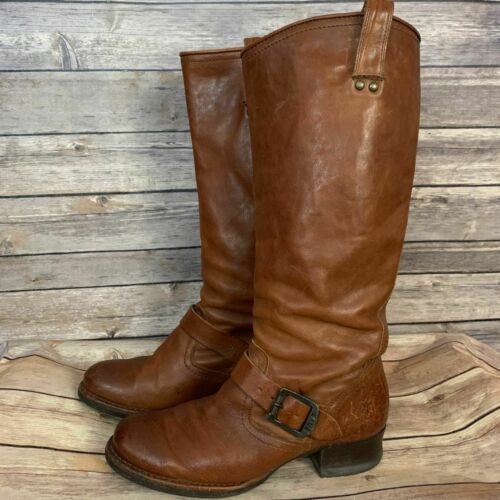 Frye 76915 Martina Engineer Boots (Size 7B)