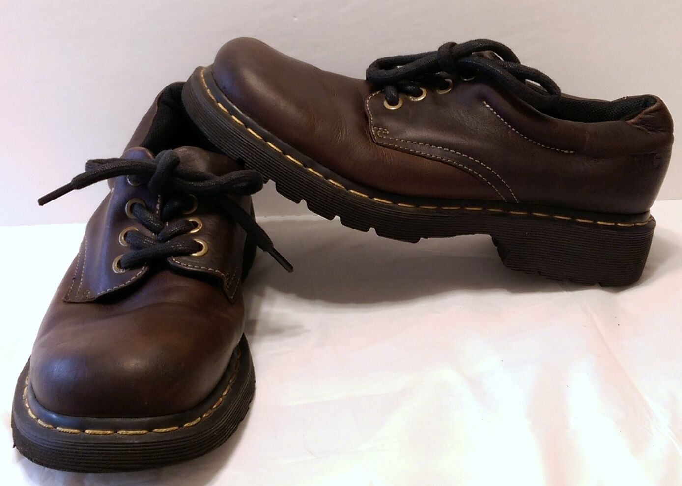 Dr. Martens Doc Martens Brown Leather shoes Size 7 US Oxfords DMs Casual Lace Up