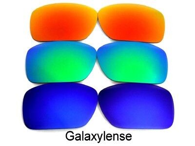 Galaxy Anti-sea Lenti Per Costa Del Mar Blackfin Sole Blu/verde/ Rosso