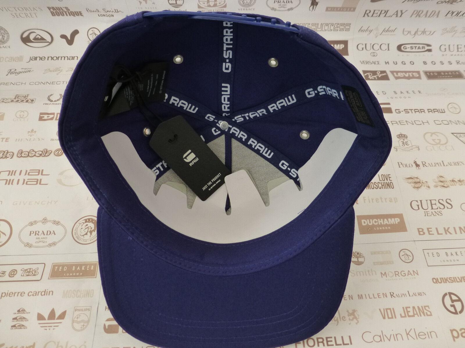 872c4cc35238f G-Star Raw Flat Brim Cap Mens Obaruh Snapback S Blue Hat Baseball Style Caps  for sale online | eBay