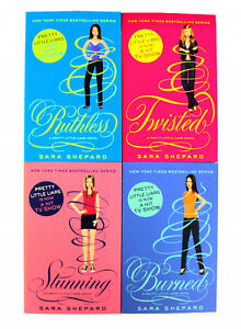 Pretty-Little-Liars-Series-3-4-Books-Young-Adult-Collection-Paperback-By-Sara