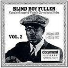 Blind Boy Fuller - Complete Recorded Works, Vol. 2 (1936-1937, 1992)