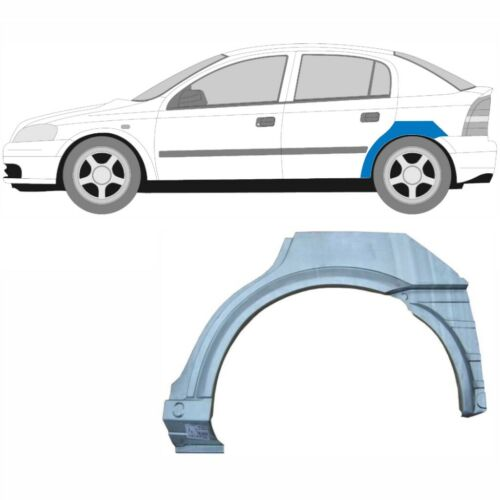 Links Opel Astra G Astra 2 1998-2010 5 Tür Radlauf Reparaturblech Kotflügel