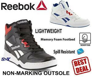 premium selection 2f925 cf147 Details about Reebok High-Top Basketball Shoes Motion Control shoe Memory  Foam boots