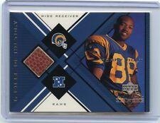 "1999 BLACK DIAMOND #TH TORRY HOLT ""FOOTBALL RELIC"" CARD, ST. LOUIS RAMS, 101113"
