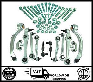 Pista-De-Suspension-Delantera-Brazos-Control-20mm-Kit-Para-Audi-A4-A6-y-VW-Passat