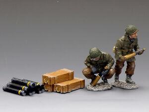 King & Country - Bba032 Artillery Add-on Set Neuf En Boite Mib