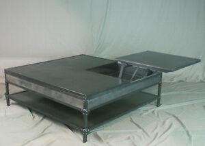 Metal Lift Top Coffee Table 11