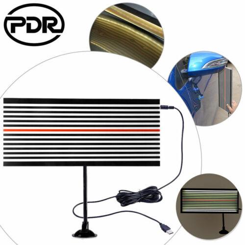 PDR Paintless Dent Hail DIY Repair Scratch Reflector Light LED Line Board Tool