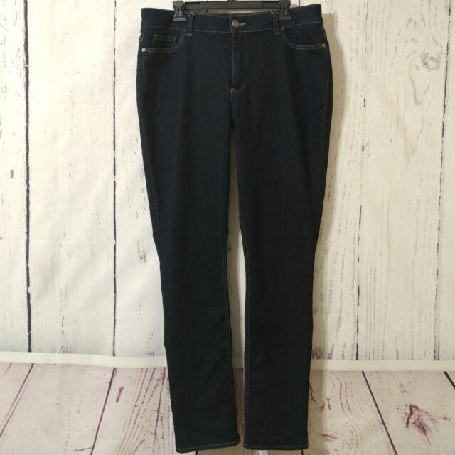 134eca8c Riders by Lee Curvy Fit Mid-rise Dark Wash Skinny Jeans 16 Long