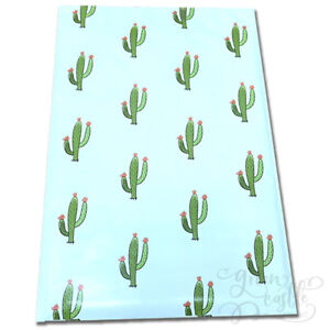 Designer-Poly-Mailers-Cactus-10x13-034-or-6x9-034-Plastic-Mailing-Shipping-Envelopes