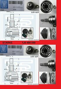 2-X-Kit-Propulsion-Vague-VW-Golf-4-BORA-AUDI-a3-8l1-Seat-Leon-1m1