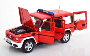 Mercedes-Benz-G-Class-W463-2015-Fire-Red-1-18-iScale-Diecast-Ob