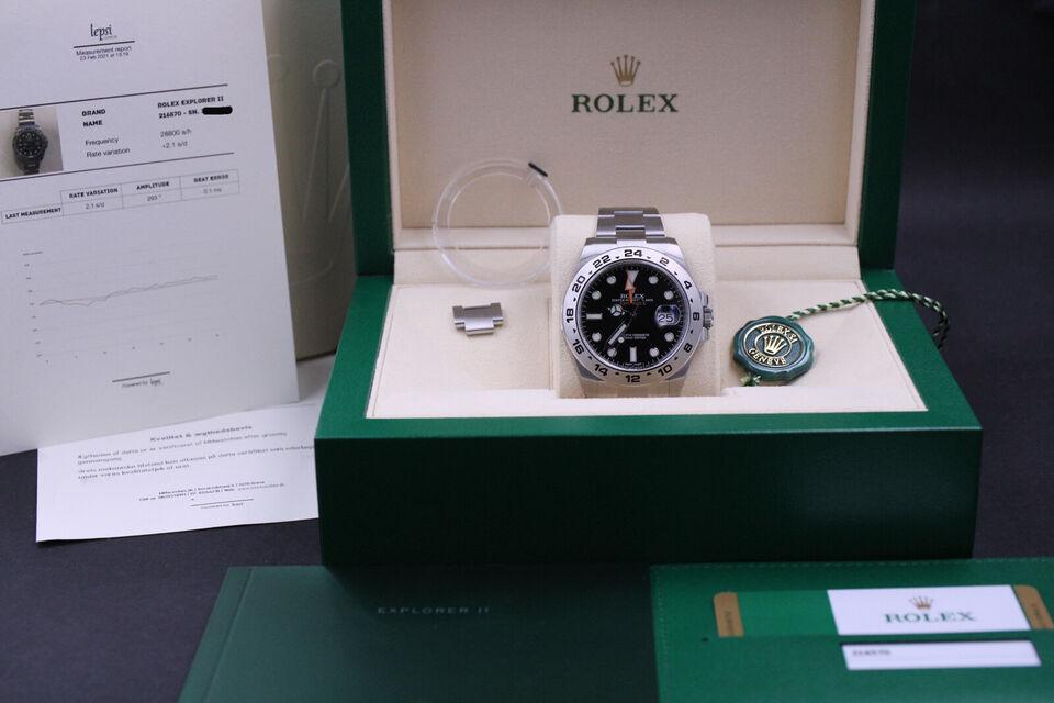 Rolex Explorer II 216570 42mm - Komplet sæt 201...