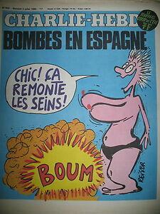 CHARLIE-HEBDO-N-503-BOMBES-EN-ESPAGNE-DESSINS-SATIRIQUES-COUV-REISER-1980