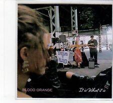 (FB62) Blood Orange, It Is What It Is - 2014 DJ CD