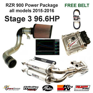 3eb19c8367 Image is loading RZR-900-15-17-Stg3-Power-Package-Exhaust-