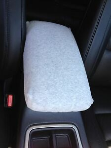 armrest covers for center console center console cover f1 light gray ebay. Black Bedroom Furniture Sets. Home Design Ideas