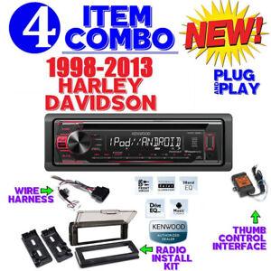 Details about FOR HARLEY DAVIDSON PLUG AND PLAY PLUG N PLAY RADIO STEREO on