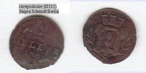 Augsburg-Stadt-Cu-1-Heller-1798-Forster-721-gewoelbt-wie-Walzenpraegung-D215