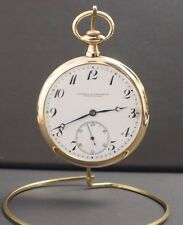 Vintage Vacheron & Constantin Geneve-Suisse 18 K Yellow Gold Pocket Watch