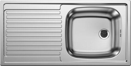 Blanco Top UES 8 x 4 évier en acier inoxydable Nature finish réversible 500370