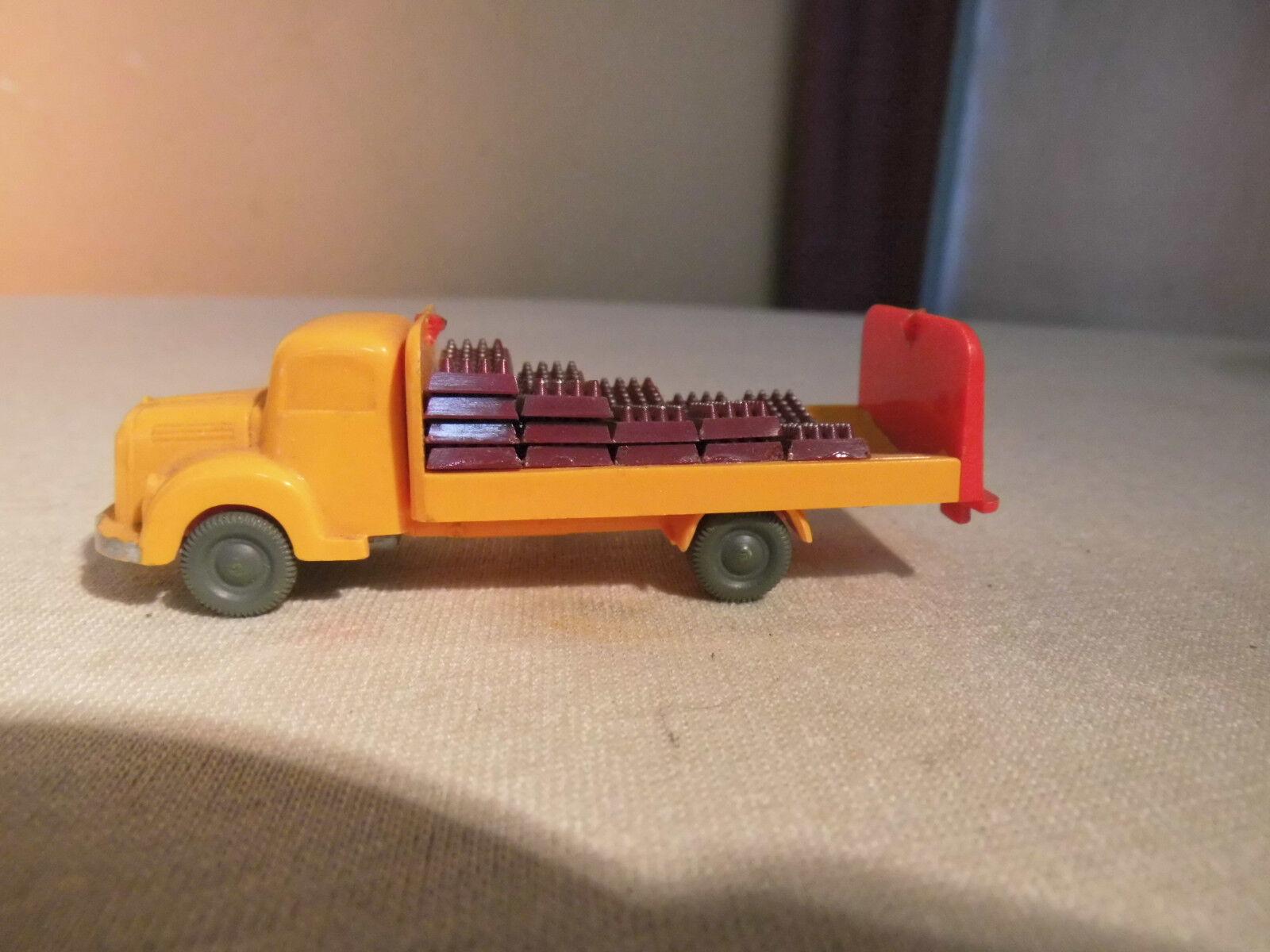 Coca-Cola LKW LKW LKW mit Getränkekisten für Modellbahn H0 um 1960   Modell 1 87 Wiking e31e9b