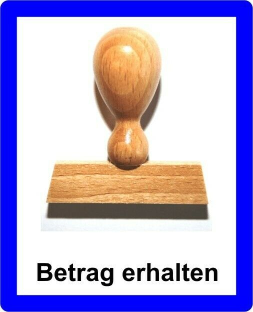 Lieferschein LE-ONs® Holzstempel Professional-Serie L9