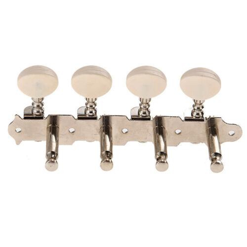 8 X Mechaniken Tuner Knöpfe Stimmwirbel Für Mandoline 4L+4R