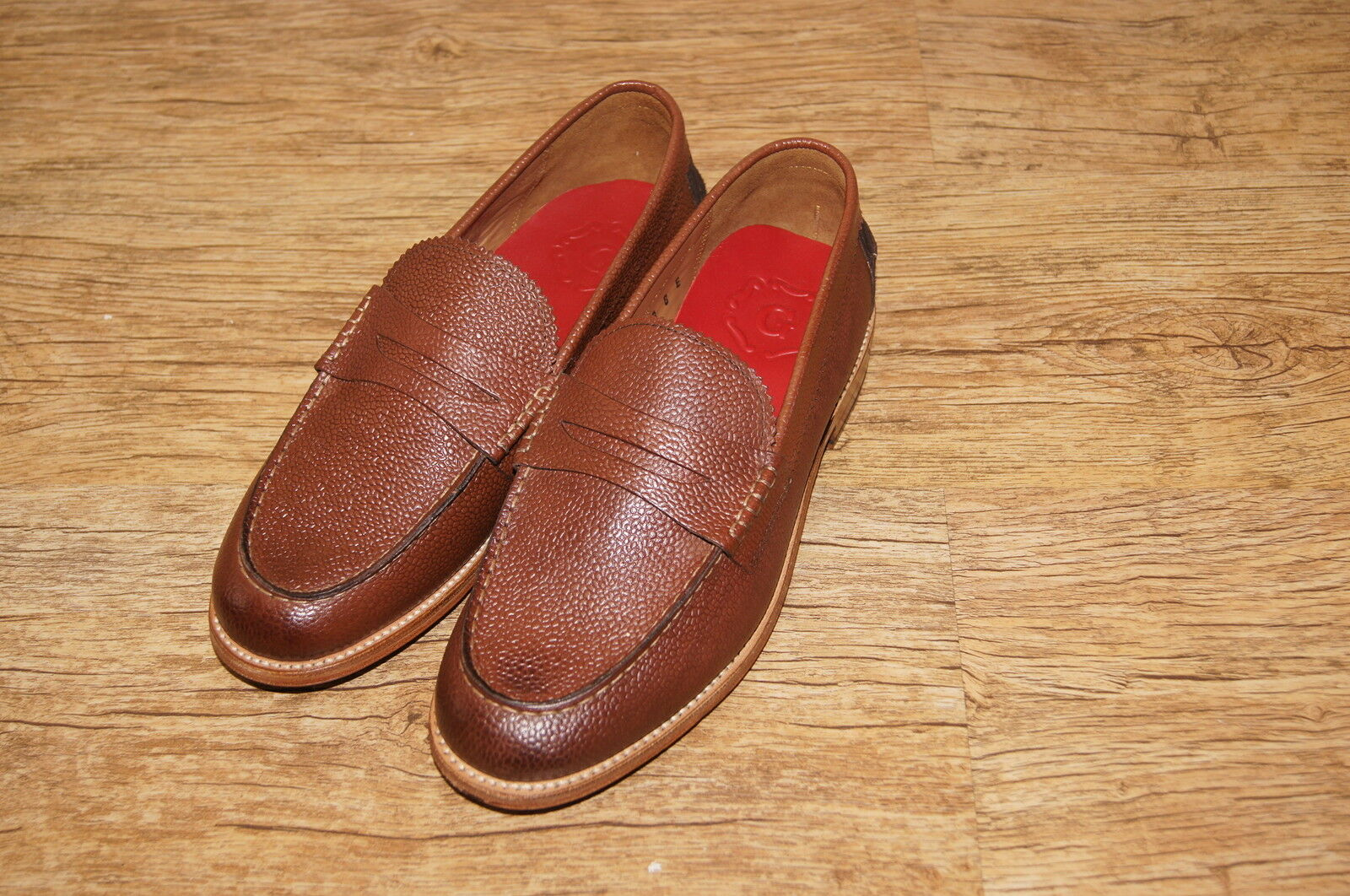 Brand New & Rare Grenson  Wilson Wilson Wilson  leather Slip-On Loafers UK 11E EU 44  b5f565