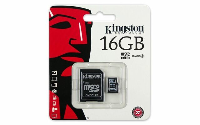 16GB Original Kingston Micro SD SDHC Memory Card for Doro Liberto 820 Mobile