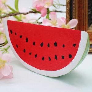 LC-GN-Kawaii-geant-lente-Rising-ecrasable-Fruit-Pasteque-parfumes-pain-PRESSER