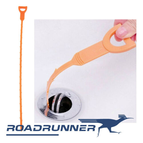 """21/"""" Drain Snake FAST SHIP 5 PACK HD Hair Drain Clog Remover Cleaning Tool"""