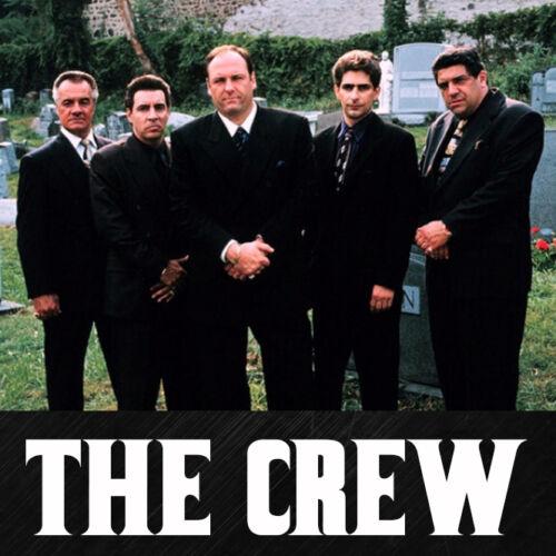The Sopranos Tony Uncle Junior Soprano bada bing mafia mob boss blu ray T Shirt